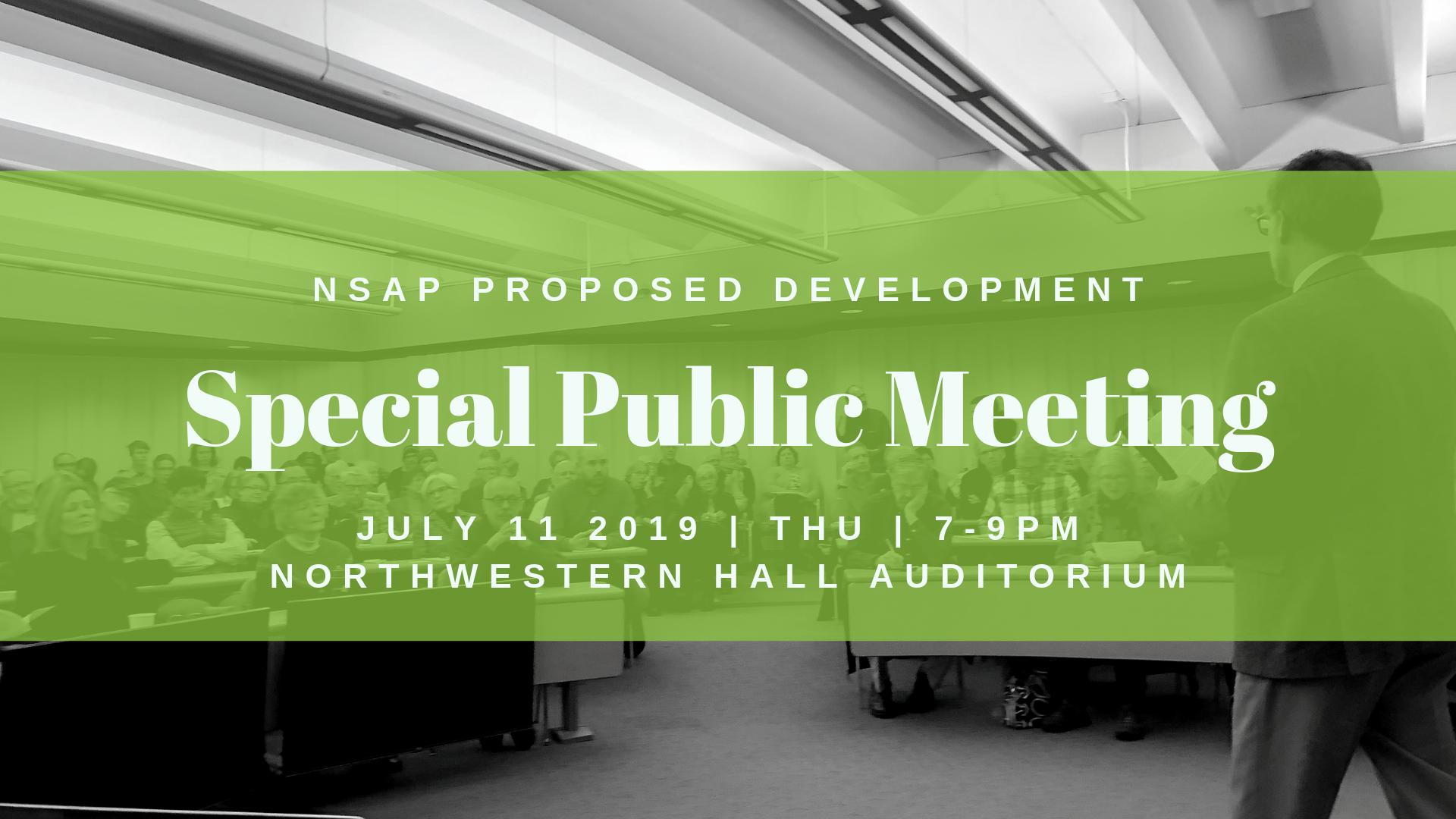 Special Public Meeting