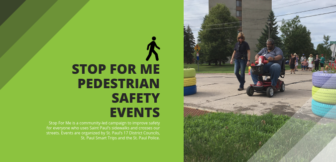 Stop for Me Pedestrian Safety Event